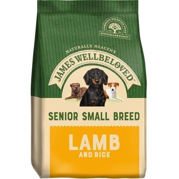 J/w senior small breed  lamb & rice
